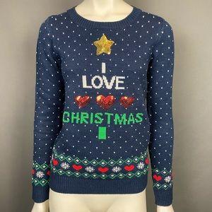 ⭐️ I LOVE ❤️ CHRISTMAS 🎄 Sweater